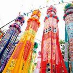仙台七夕祭りの由来と花火鑑賞絶好の場所・日程とは?