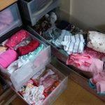 子供服の収納、サイズアウトした服はどうする?100均とDIY活用が吉!