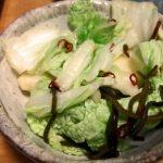 白菜の漬物の簡単な作り方は?塩抜きや切り方も知りたい!