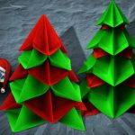 クリスマスの飾りを折り紙で手作りする方法とは?簡単な折り方もご紹介!