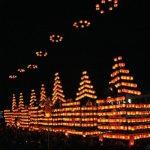 二本松堤灯祭り2017の日程と駐車場情報。見どころや歴史も紹介!