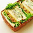 サンドイッチのお弁当は詰め方とおかずで見違える!お弁当箱選びもポイント♪